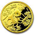 Инвестиционная монета Китайская панда, 1992г.