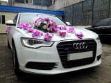 Аренда авто Audi A6 белого цвета