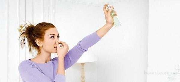 Устранение неприятного запаха