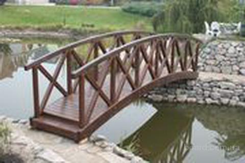 Как сделать мост в саду