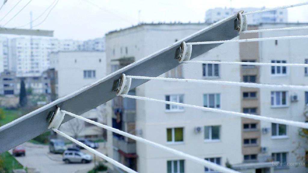 Как сделать бельевую веревку за балконом - альтаир и к.
