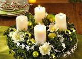 Новогоднее оформление магазина, хвойная гирлянда продажа Киев Украшение новогодней елки, продажа елок, продажа