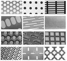 Перфорированный металл с нержавеющей стали