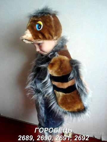 Прокат детских карнавальных костюмов - снигирь, синичка, ласточка, ворона, пингвин,качур,уточка,воробей троещина
