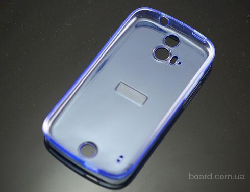 Чехол для Acer Liquid E2 V370 DUO Голубой