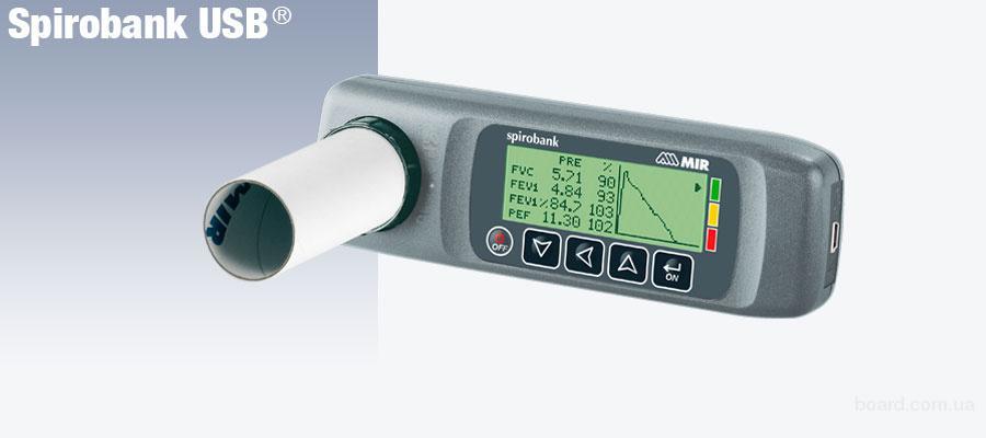 Spirobank USB портативный спирометр.