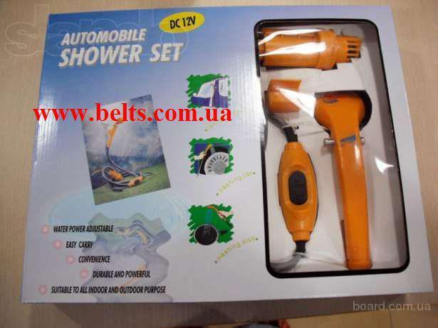 Автодуш Automobile Shower Set подключается к