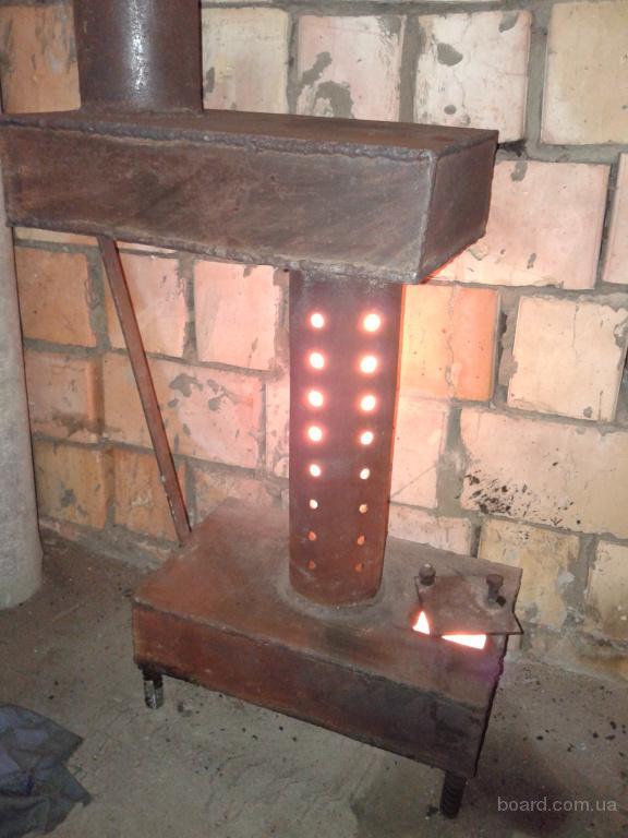 Электропечь для гаража видео