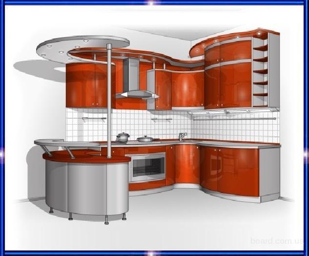 Кухни, кухонные гарнитуры, кухонная мебель - на заказ в Харькове
