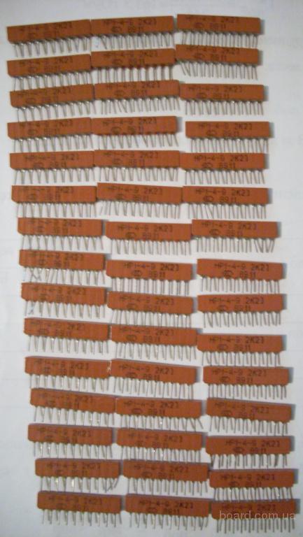 Новая резисторная сборка НР1-4-9