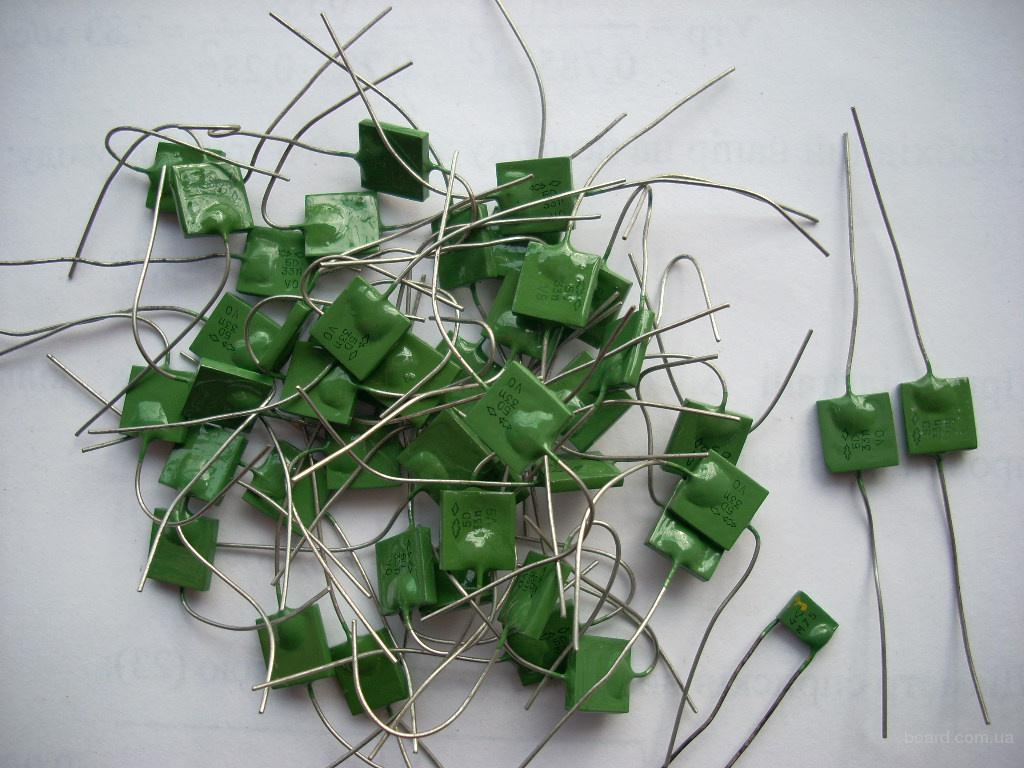 Новые конденсаторы КМ зеленые
