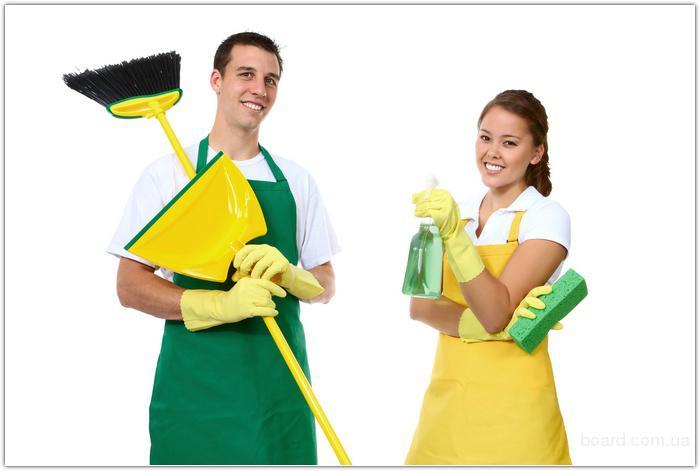 Услуги уборки коттеджей, домов, офисных помещений.