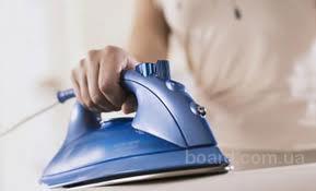 стирка и глажка белья, услуги опытной домработницы