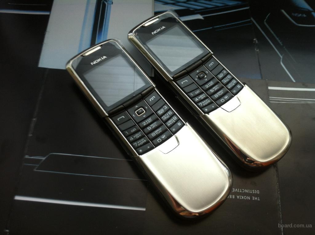 Nokia 8800 Classic Silver Original UA