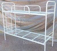 Ліжко металеве для гуртожитків, металеві ліжка двоярусні для хостелів