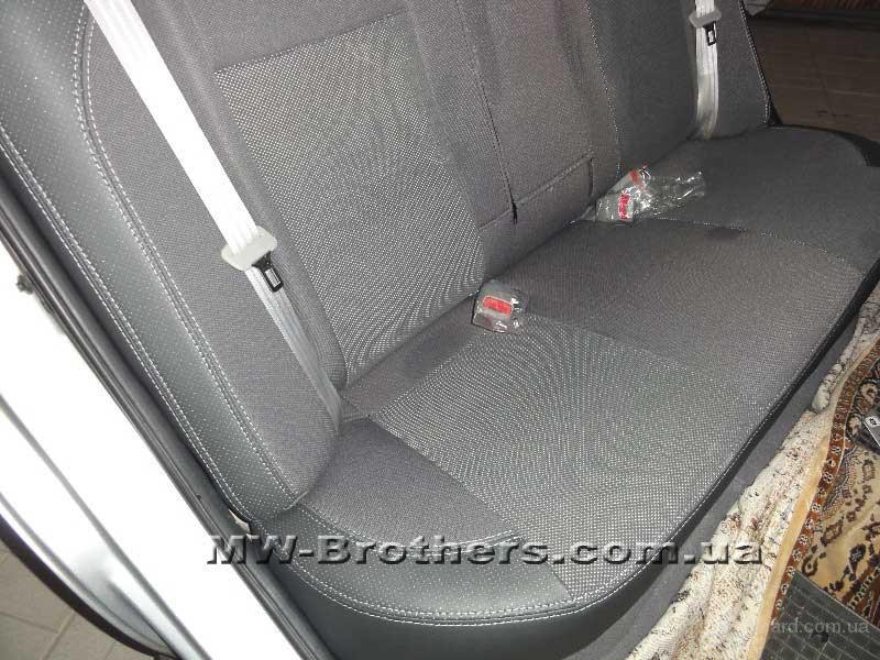 Чехлы из экокожи на сиденья автомобилей Kia Cerato
