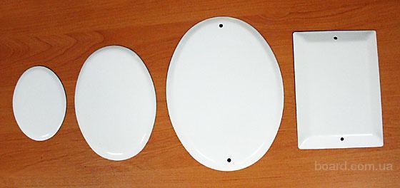 металлокерамические таблички и овалы для фотокерамики