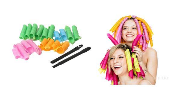 бигуди magic leverage для длинных волос