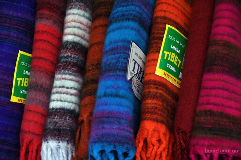 шарф вязаный