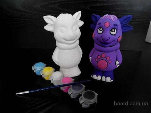 colorjoy - керамическая объемная 3d игрушка раскраска
