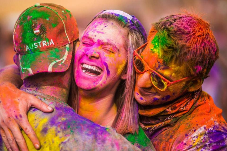 Порошок для фестивалей красок Холи (Holi Fest)