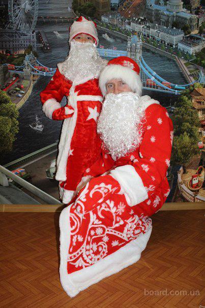 Детский карнавальный костюм Дед мороз, Санта клаус, Новый год - прокат Троещина