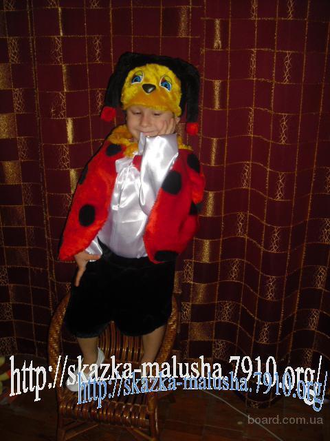 Детские карнавальные костюмы Снегурочка, пингвинчик. божья коровка, бобер, снежинка, хлопушка, бусинка, зайчик - прокат