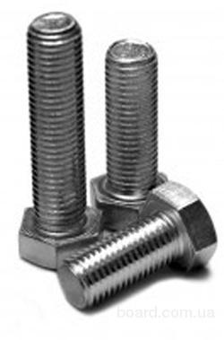 Болты нержавеющие А2  М6-12  DIN933