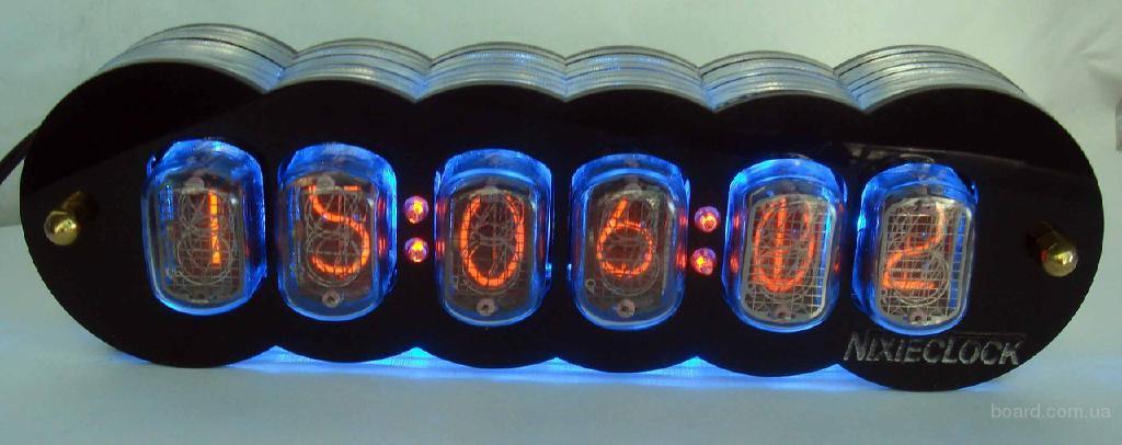 часы на газовых лампах комплект