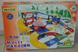 Паркинг с трассой Wader Kid Cars 3D 53070. Длина дорог 9,1м+3 авто