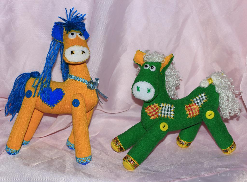 Забавная лошадка ручной работы - оригинальный подарок для детей и взрослых