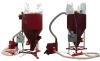 Вертикальные комбикормовые установки КУВ-0.5; КУВ-1.0; КУВ-1.5 с пневмозагрузкой и дозированием