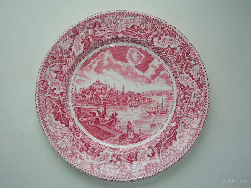 "Декоративная тарелка  Johnson Brothers ""Historic America "". Англия"