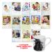 Индивидуальный перекидной фотокалендарь А3 формата + чашка с Вашим фото в подарок