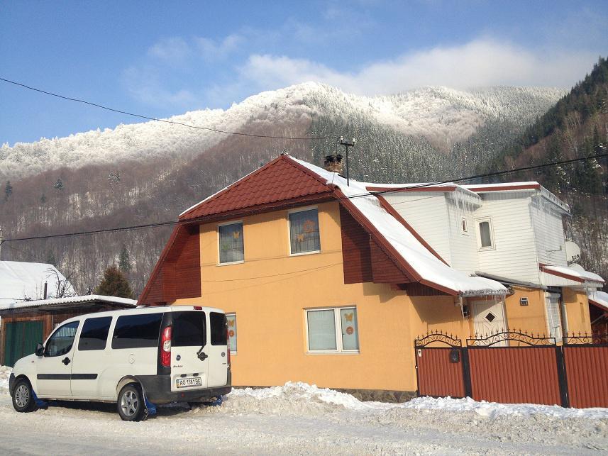 Зимний,горнолыжный отдых в Закарпатье 2016 году.Усадьба Алекс.