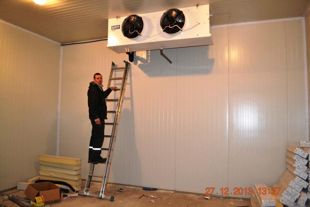 Как собрать холодильную камеру своими руками