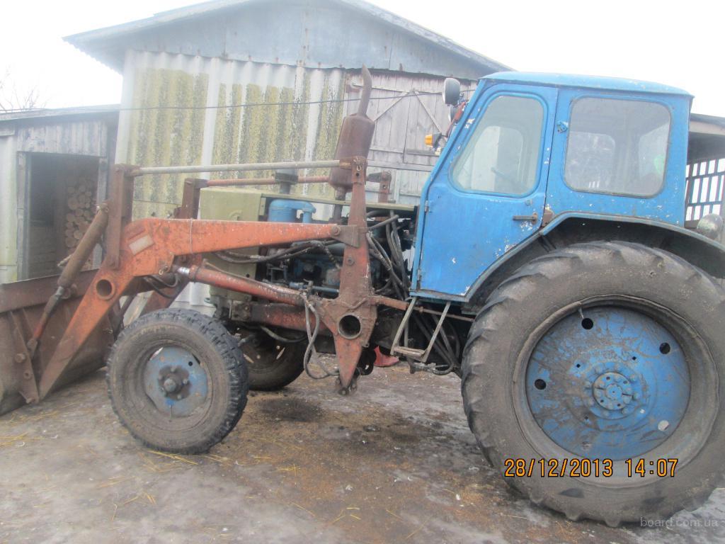 Трактор 82 с куном | Трактор мтз-82 с куном, дискатор в.