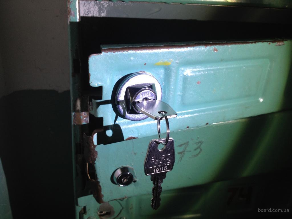 Замена замка почтового ящика