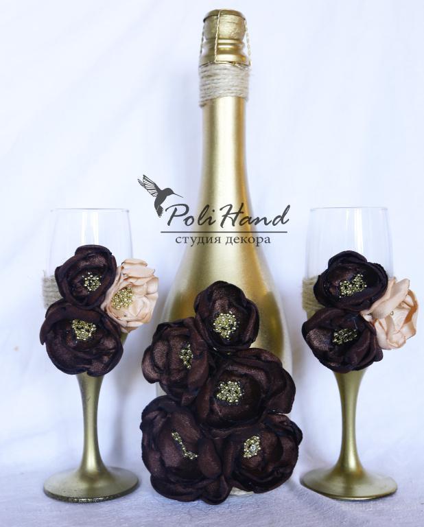 Свадебные бокалы и шампанское, Шампанское на свадьбу Киев