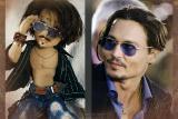 портретная кукла по фото. Необычный подарок.Кукла с портретным сходством Джонни Депп в роли Шляпника.