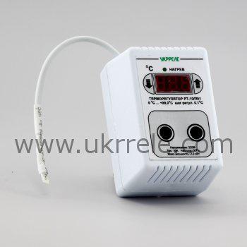 Терморегулятор в корпусе переходника РТ-10/П01-К (10А/2,2кВт)