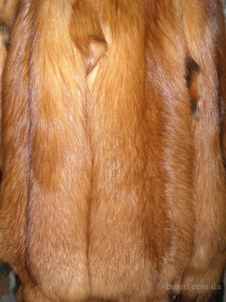 Продам шкуры лисицы красной,выделанные.