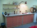 Шкаф вытяжной химический лабораторный. Лабораторная мебель.Стол лабораторный химический