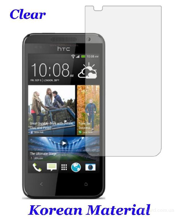 Глянцевая защитная пленка HTC Desire 300