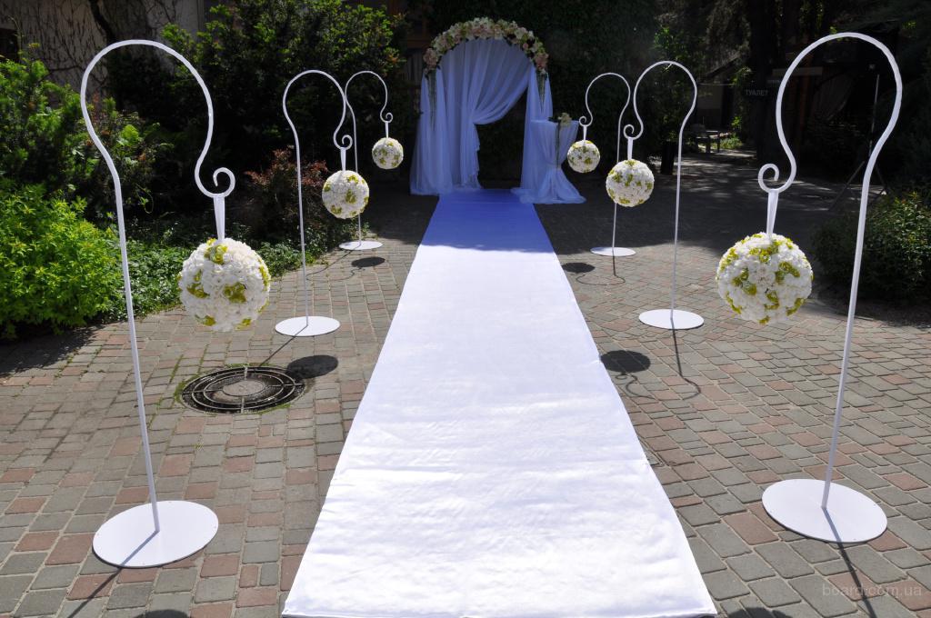 Свадебные стойки для цветов своими руками 98