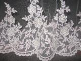 Свадебная фата кружевная ручной работы