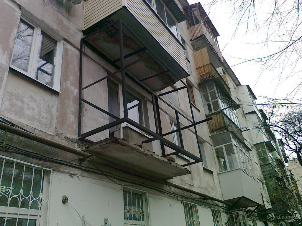 Реконструкция и остекление балконов и лоджий в киеве в г. ки.