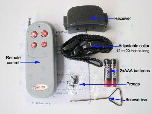 Электроошейник для собак с вибро функцией, вибрирующий электроошейник для собак Модель 3-в-1 PET998Е