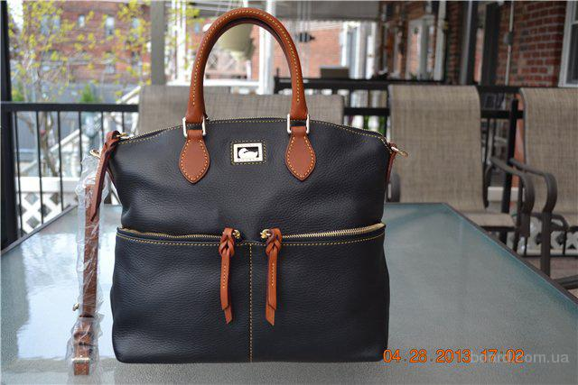 Сумка Dooney & Bourke Dillen Double Pocket Satchel, оригинал