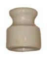 Рш-4 Изолятор керамический, фарфоровый (белый) для монтажа наружной / открытой ретро проводки.